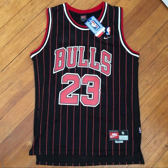 pretty nice 10b6a 7f2ef Michael Jordan Chicago Bulls Black Jersey NWT